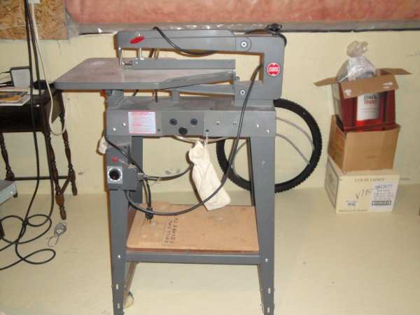 Shopsmith 20 Scroll Saw