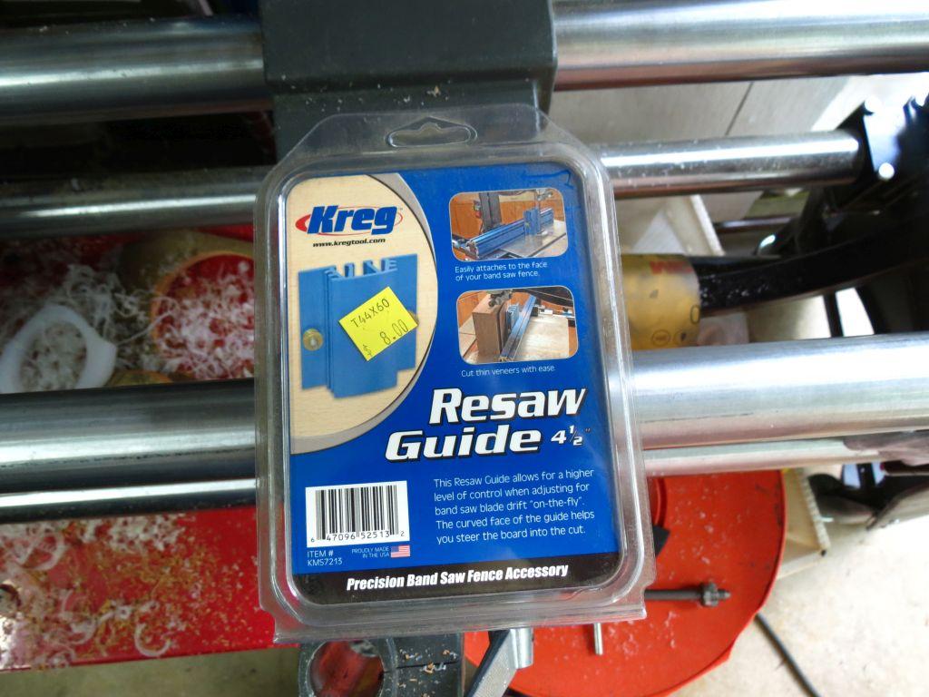 kreg bandsaw fence resaw guide