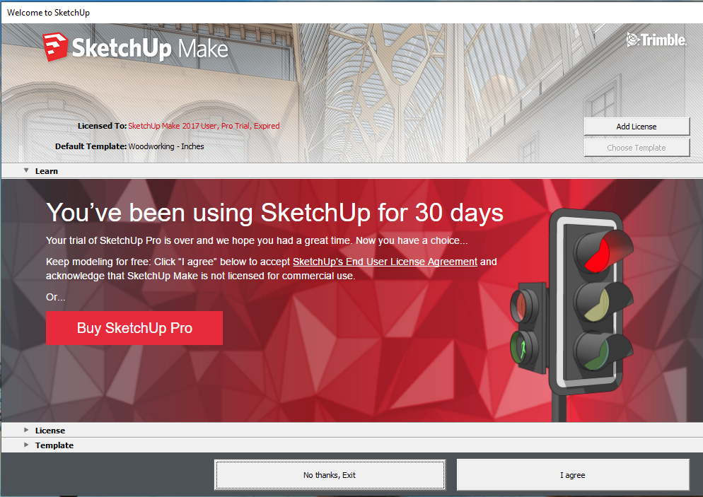 Sketchup pro trial user expired | How to Install and License