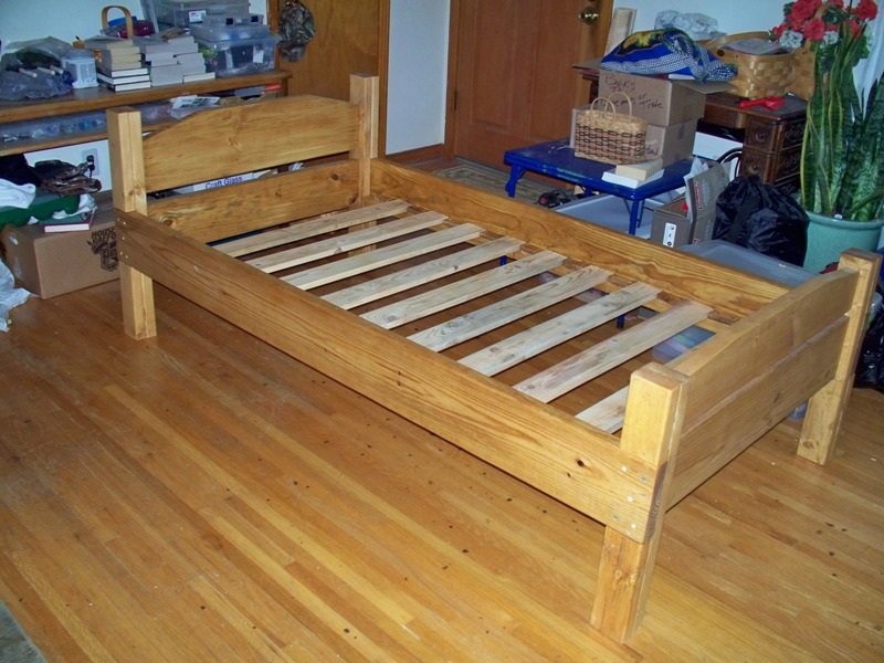 Smith Forums, How To Build A Simple Twin Bed